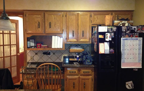 the kitchen master before remodel traditional kitchen black appliances light wood cabinets