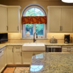 Kitchen remodeling in Naperville, IL. Farm sink design for the kitchen.
