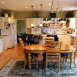 Kitchen remodeling in Naperville, IL. Traditional kitchen area before redesign.