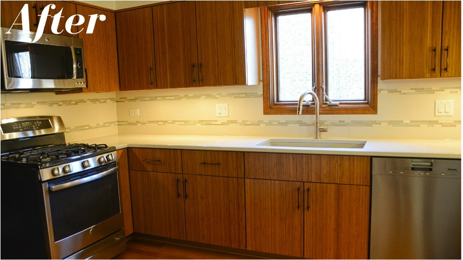 Remodel your kitchen with new cabinets and appliances