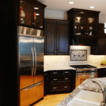 transitional-dark-kitchen-refrigerator