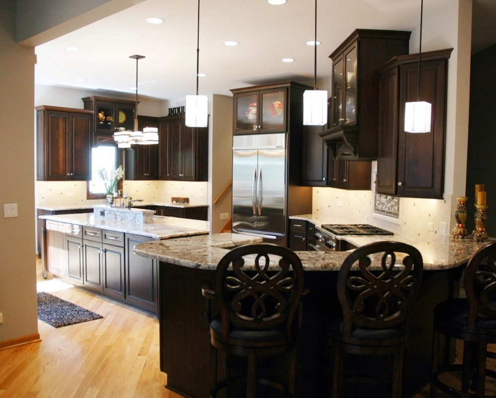 transitional-dark-kitchen-back-view